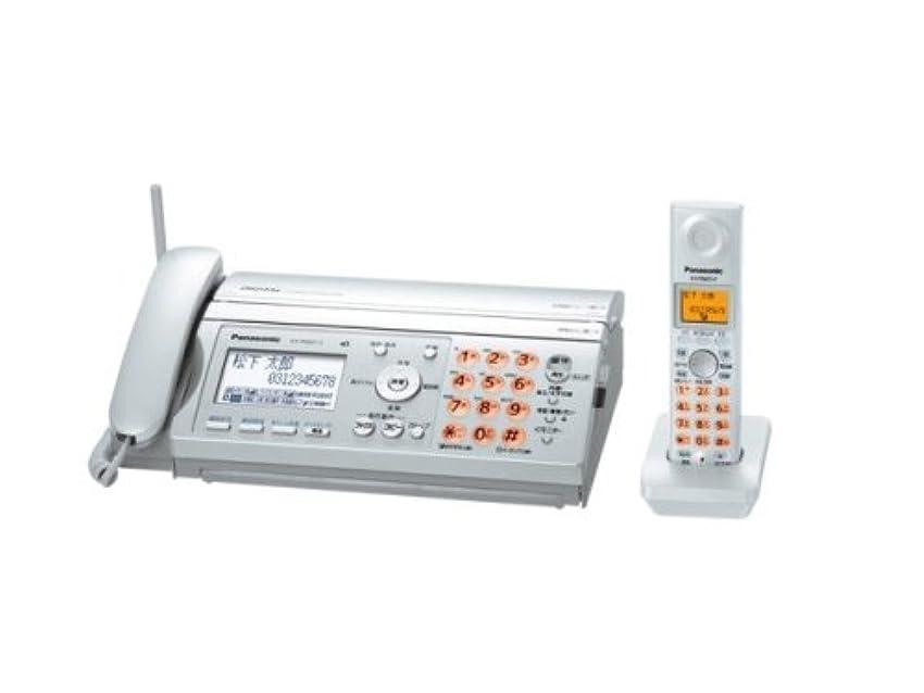 リーダーシップ装置手当パナソニック おたっくす デジタルコードレスFAX 子機1台付き シルバー KX-PW507DL-S