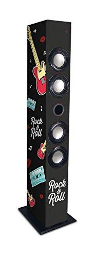 Metronic 477095 Colonne Bluetooth Rock'n Roll 64 W avec USB Play & Charge/Radio FM