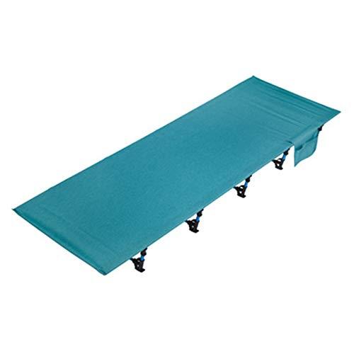 WanuigH Cama para Acampar Cuna Plegable Cuna Ligera Compact Portátil Cama al Aire Libre Cómodas Copas para Dormir para Adultos y kidsfits Almohadilla de colchón de Aire único Ligero y Portátil
