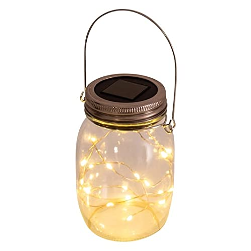 Näve Solar Hanging Jam Jar Light