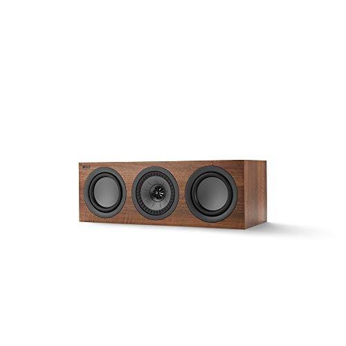 Great Features Of KEF Q250c Center Channel Speaker (Each, Walnut)