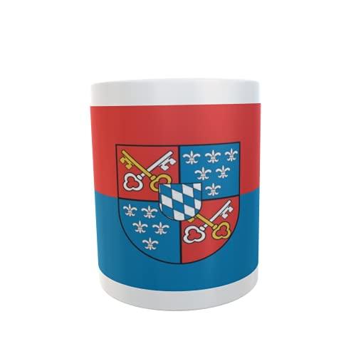 U24 Tasse Kaffeebecher Mug Cup Flagge Berchtesgaden