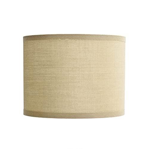 Pantella de tela para lámpara de mesa E14 (diámetro de 17 cm), color crema
