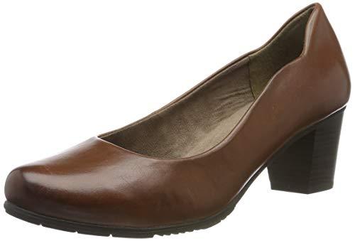 Jana 100% comfort Damen 8-8-22404-23 Pumps, Braun (Cognac 305), 38 EU