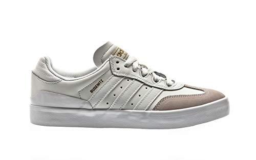adidas Herren Busenitz Vulc RX Skateboardschuhe, Weiß (Crywht/Ftwwht/Gold Mt Crywht/Ftwwht/Gold Mt), 48 2/3 EU