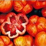 VISA STORE Heirloom RAYADO CAVERN tomate orgánico 50 semillas Grandes para relleno COMBINAR S/H