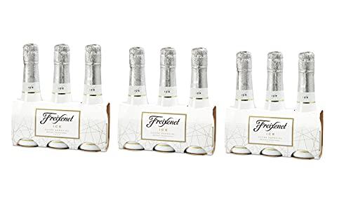 Freixenet mini Ice Cava Pack 3 botellas de 200 ml - 3 packs de 3u - total 1800 ml