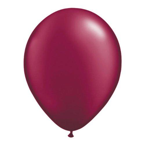 Palloncini rosso vino bordeaux 30 cm - 50 pezzi