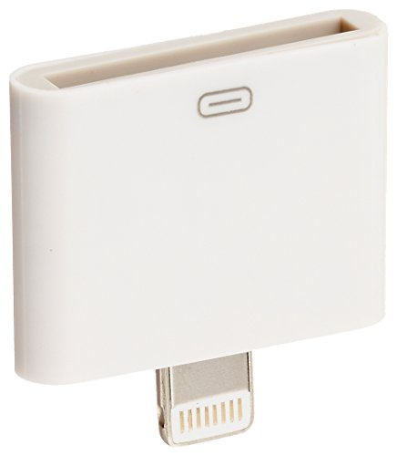 Truwire 30 pin to 8 pin Charge & Sync Adapter Converter (White)
