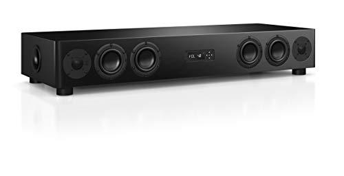 Nubert nuPro AS-450 Soundbar 2. Wahl | TV-Lautsprecher für HiFi & Musikgenuss | Soundbase für klare Stimmen | Stereoboard mit 3.5 Wege Technik | aktive Stereobase für Spitzenklang | Sounddeck Schwarz