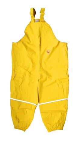 Liegelind 4505 - regenbroek, maat: 98, kleur: geel