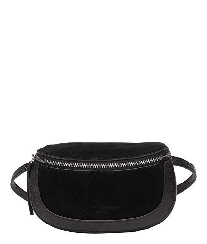 Liebeskind Berlin Shelle Belt Bag Umhängetasche, Medium (10.5 cm x 23 cm x 6cm), black