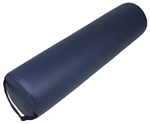 PHYSIQUE Bolster and Support Cushion for Massage Tables/Beds - Multi-Functional, Ideal for Back Support - Full Round, Blue