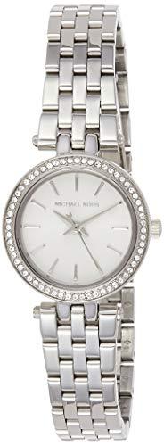 Michael Kors Damen Analog Quarz Uhr mit Edelstahl Armband MK3294