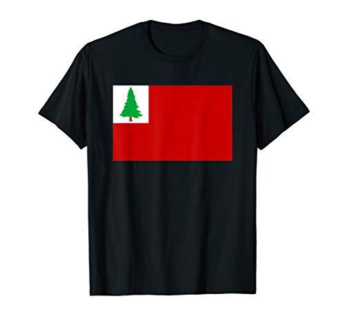 Flag of New England Revolutionary War USA T-Shirt