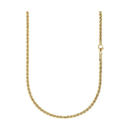 IDENTIM Hombre Mujer 925-Sterling-und-18k plateado bañado en oro