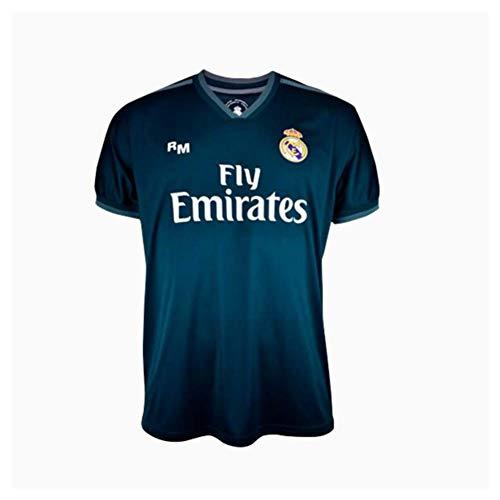 Camiseta 2ª equipación Navy Real Madrid 2019-20 - Replica Oficial con Licencia - Dorsal Liso - Talla XL