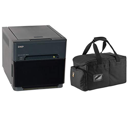 DNP QW410 4.5-inch Dye-Sublimation Professional Photo Printer Bundle with Slinger Padded Printer...