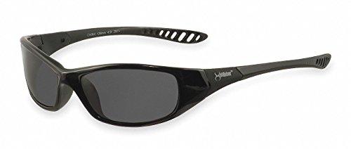 Jackson Smoke Safety Glasses, Scratch-Resistant, Wraparound