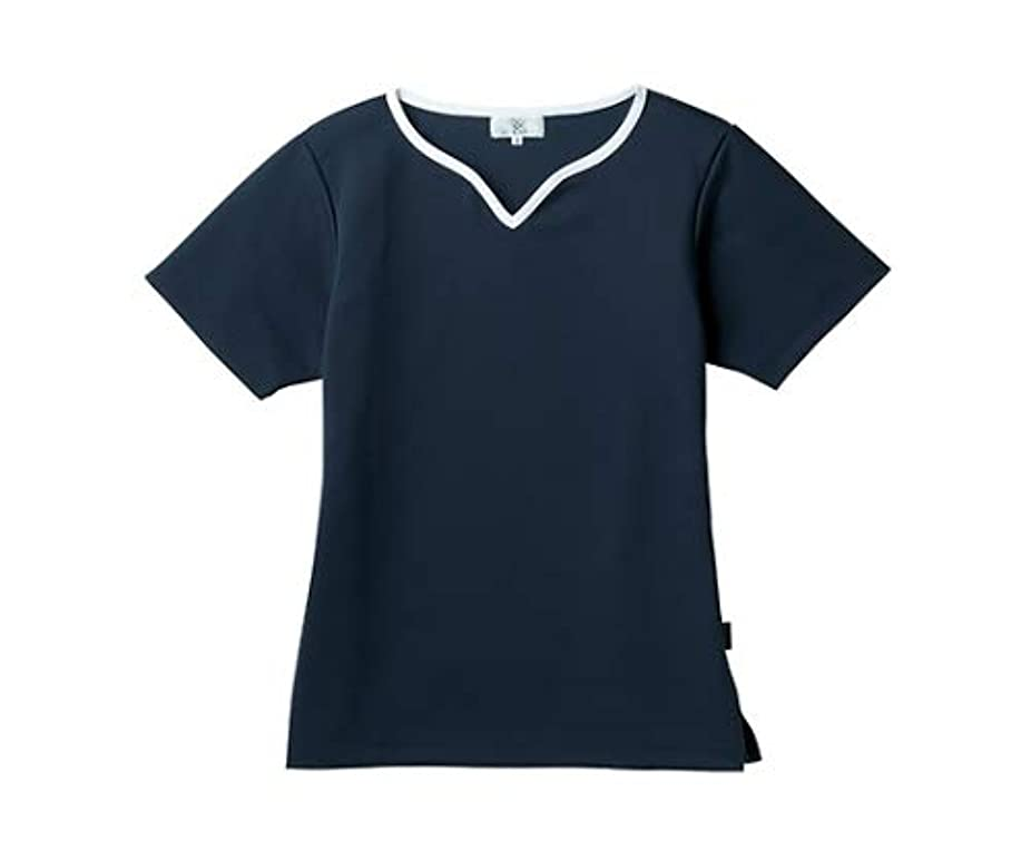 吐くラフレシアアルノルディ墓トンボ/KIRAKU レディス入浴介助用シャツ CR161 3L ネイビー