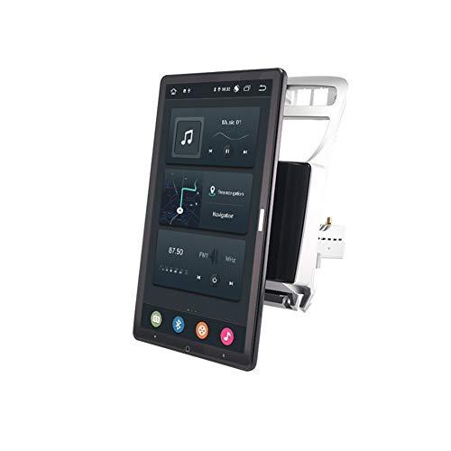Foof Autoradio 2 DIN Android Multimedia Bluetooth Manos Libres GPS Radio De Coche Pantalla Táctil De 13.3'' Auto Rotativo Cámara De Respaldo/DSP/FM for Peugeot 307 1 2001-2008,Px6,13.3inch