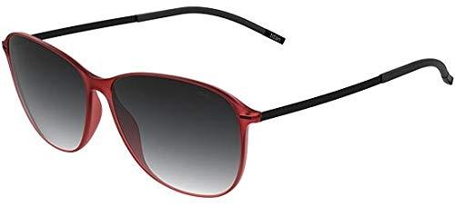 Silhouette Gafas de Sol URBAN SUN 3191 Red Black/Grey Shaded talla única mujer