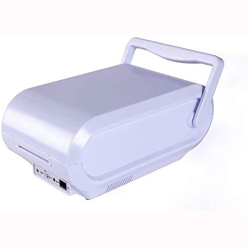 Rindasr Draagbare mini-koelkast, koeling en warmte, compacte koelkast, outdoor-camping-drank, gekookte eten, elektrische koelkast, 3 liter