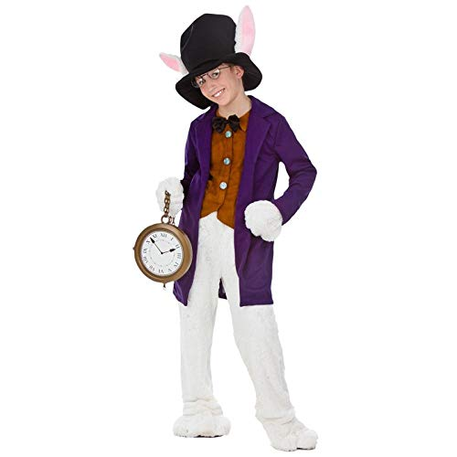 Cosplay Kostüm Child White Rabbit Cosplay Kleidung Filmfigur Halloween Party Einzigartiges Kostüm A S