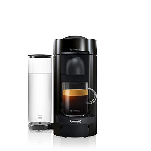 Nespresso Vertuo ENV150B Macchina per Espresso di De'Longhi, Colore Ink Black, Capsule Vertuo System, Nero