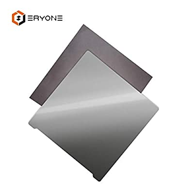 ERYONE Maflex Upgrade Magnetic Flexible 3D printing build surface with Sticker For 3D Printer 220 * 220mm