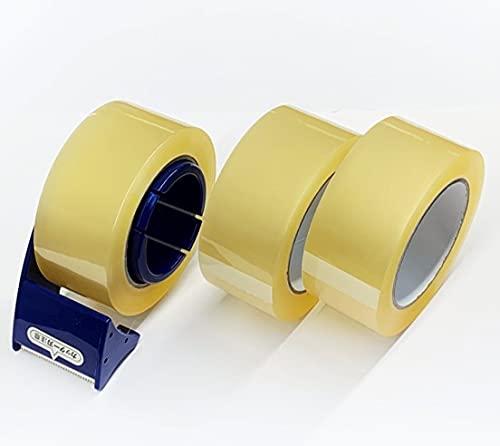 匠OPPてーぷ厚さ0.05mmx幅48mmx長さ100m3巻+NittoテープカッターPROSELF1台セット軽量テープカッターと透明OPPテープ3巻のセット