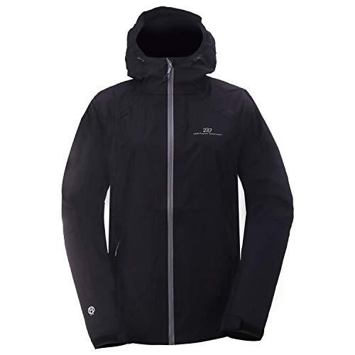 2117 of Sweden Damen Women's Jacket 2.5L Flistad Regenjacke Schwarz XL