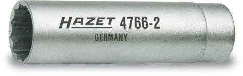 HAZET 4766-2 Zündkerzen-Schlüssel, s: 14, Innenvierkant 10 mm (3/8 Zoll)