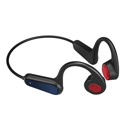 prasku Deportivos Auriculares de natación Reproductor de MP3 Bluetooth 5,0 conducción ósea Auriculares Bluetooth Auriculares Reproductor de MP3 - Rojo