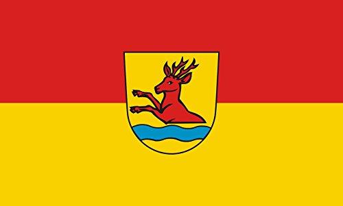 Unbekannt magFlags Tisch-Fahne/Tisch-Flagge: Ottenbach 15x25cm inkl. Tisch-Ständer