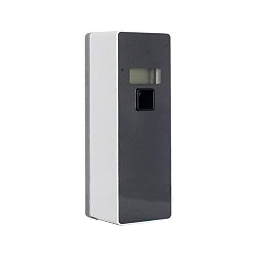 HDLWIS Dispensador de ambientador de Aire, automático Perfume Spray máquina automática Aerosol dispensador de Pared Hotel Inodoro Aerosol Perfume dispensador Aire,Black