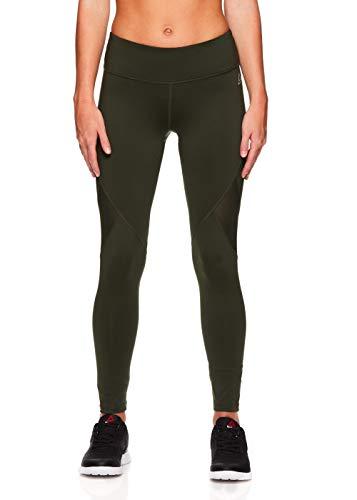 Reebok Women's Legging Full Length Performance Compression Pants - Dufflebag, Medium