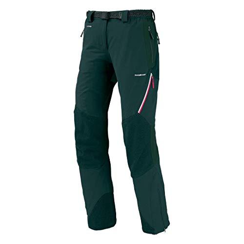 Trangoworld PC007743-612-L Pantalon Long pour Femme Noir Taille L