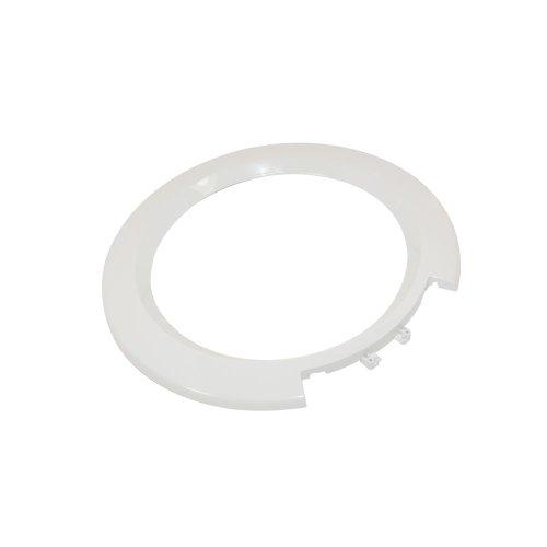 Exterior Blanco Marco de borde de puerta para Bosch Lavadora equivalente a 366232
