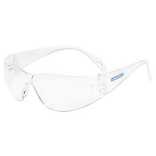 JORESTECH Kids Safety Glasses UV Protection Anti Scratch Clear Frameless Glasses, Meets ANSI Z87+ Standards, Eye Protection Activewear (LS-375-CL)