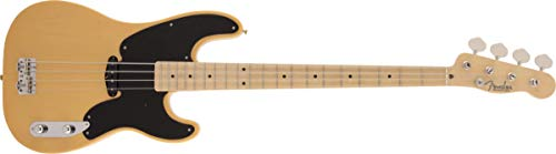 Fender エレキベース Made in Japan Traditional Orignal 50s Precision Bass®, Maple Fingerboard, Butterscotch Blonde