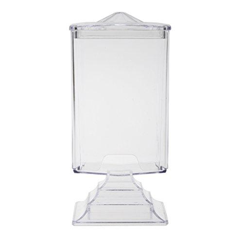 Makeup Cotton Pads en Plastic Nail Art Wipes Box Case Holder Cosmetic