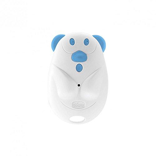 Chicco 00007931000000Teddy Baby Tracker, escucha bebés, blanco