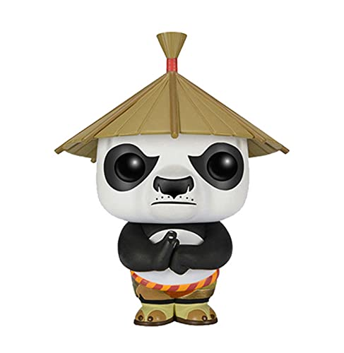 SDFH Pop Vinilo Figuras De Anime Kung Fu Panda Dolls # 252 Abao 10Cm Kawaii Q Versión Muñeca Figura De Acción Modelo De Juguete En Caja Decoración De La Habitación Regalos para