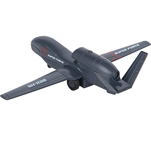 US Army Drone Global Hawk UAV RQ-4 Diecast Metal Model Scale 1:100 - Russian Collectible Die-cast Toy Cars