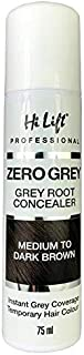 Hi Lift Zero Grey Root Concealer Medium to Dark Brown 75ml