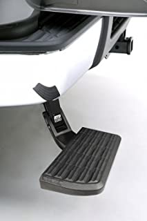 AMP Research 75302-01A Retractable Bumper Step for 06-14 Ford F-150 and Raptor Excludes Flareside