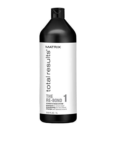 MATRIX Total Results The Re-Bond Shampoo | Repairs Extremely Damaged, Weak Hair | For Over Processed Hair | 33.8 Fl. Oz.