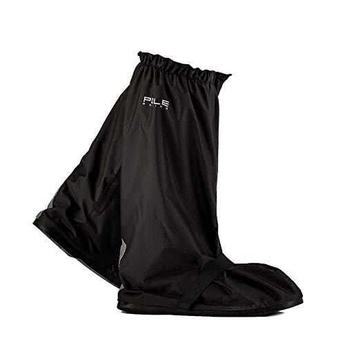 Jtoony-CY Fietsoverschoenen, regenlaarzen, dik, hoog, voor mannen en vrouwen, waterdichte regenjas, motorrijlaarzen
