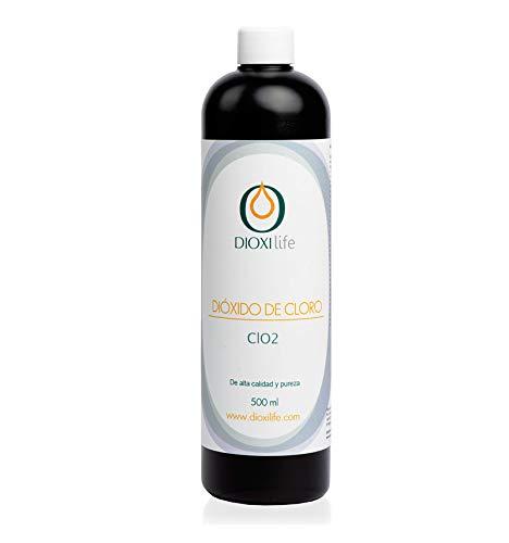 Dioxilife ® Solución de dióxido de cloro 0.3% (500 ml) - Botella HDPE especial – Fabricado en España